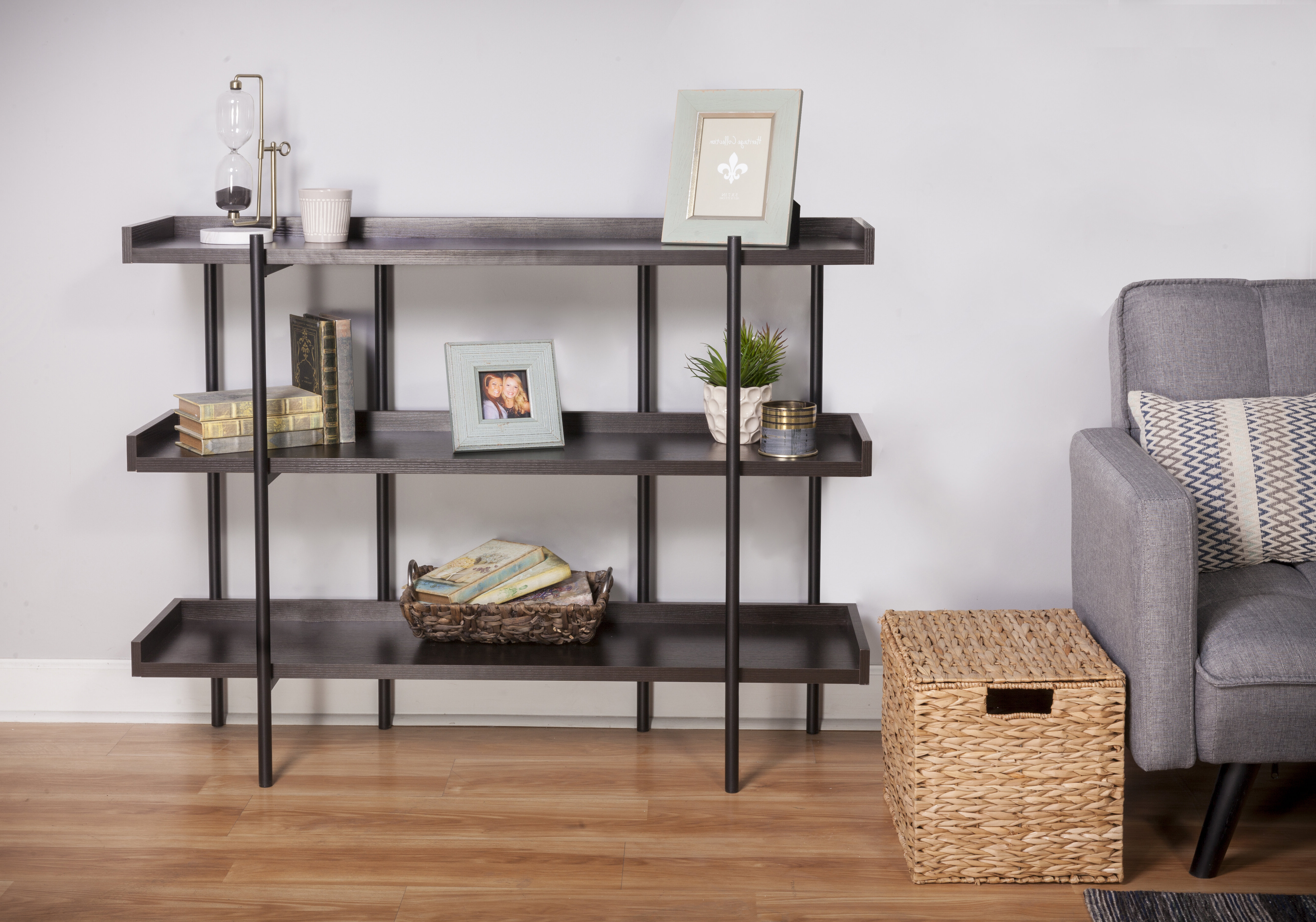 Preferred Parker Modern Etagere Bookcases Pertaining To Parker Modern Etagere Bookcase (View 15 of 20)