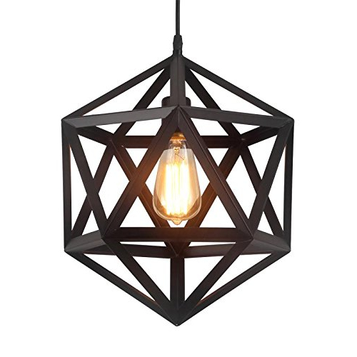 Preferred Pendant Style Lantern: Amazon Intended For Louanne 1 Light Lantern Geometric Pendants (Gallery 19 of 25)