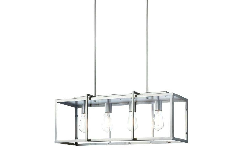 Preferred Rectangle Light Fixture – Brigitteferrer.co In Thorne 4 Light Lantern Rectangle Pendants (Gallery 22 of 25)