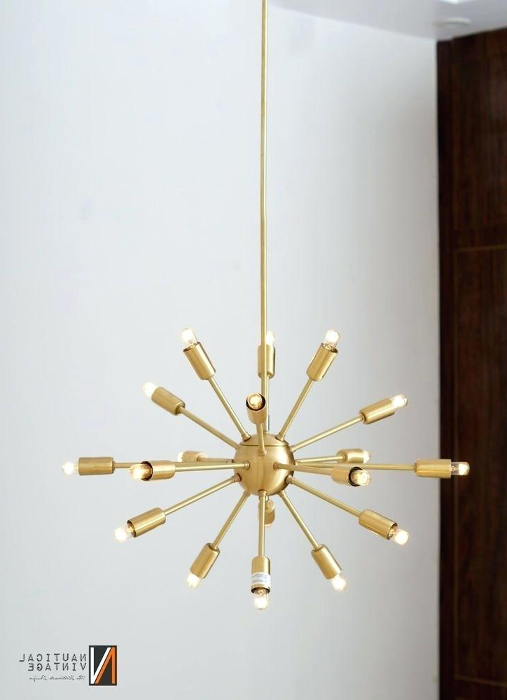 Preferred Sputnik 18 Light Chandelier Within Defreitas 18 Light Sputnik Chandeliers (View 16 of 25)