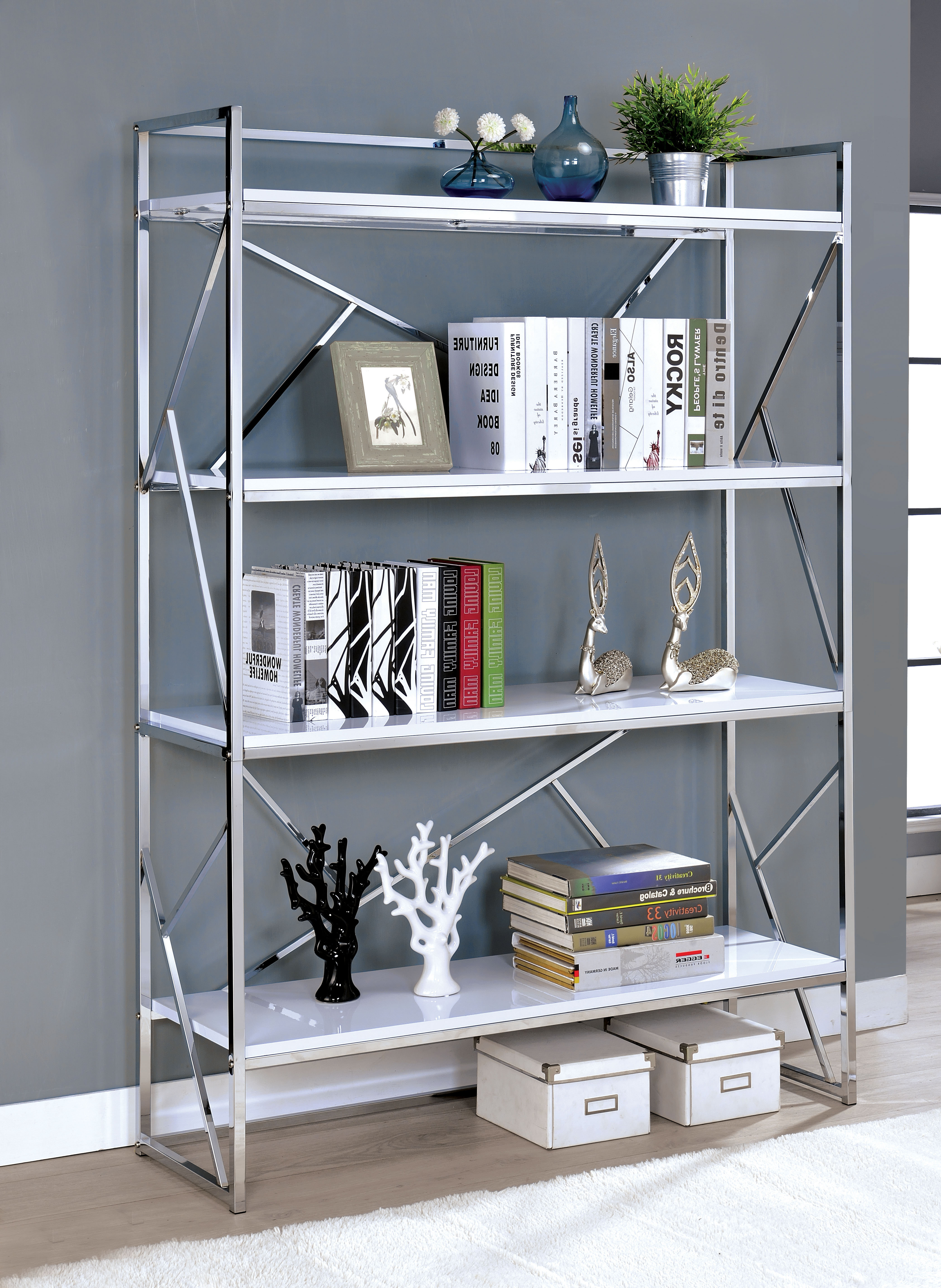 Preferred Welliver Etagere Bookcase Intended For Blairs Etagere Bookcases (View 18 of 20)
