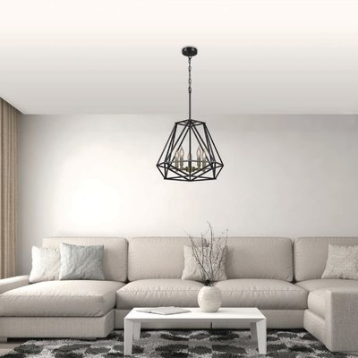 Products In Inside Newest Tabit 5 Light Geometric Chandeliers (View 10 of 25)