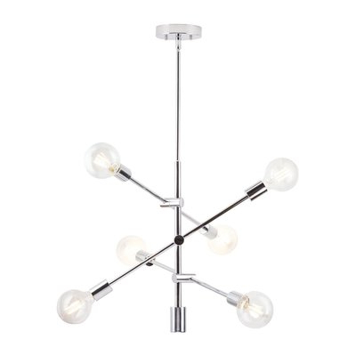 Products In Intended For Eladia 6 Light Sputnik Chandeliers (View 5 of 25)