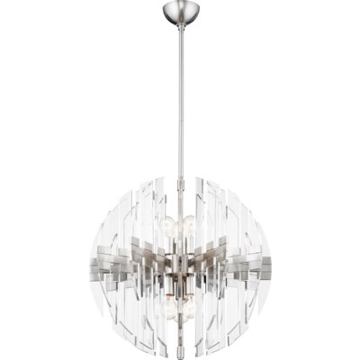 Products Intended For Verlene Foyer 5 Light Globe Chandeliers (View 20 of 25)