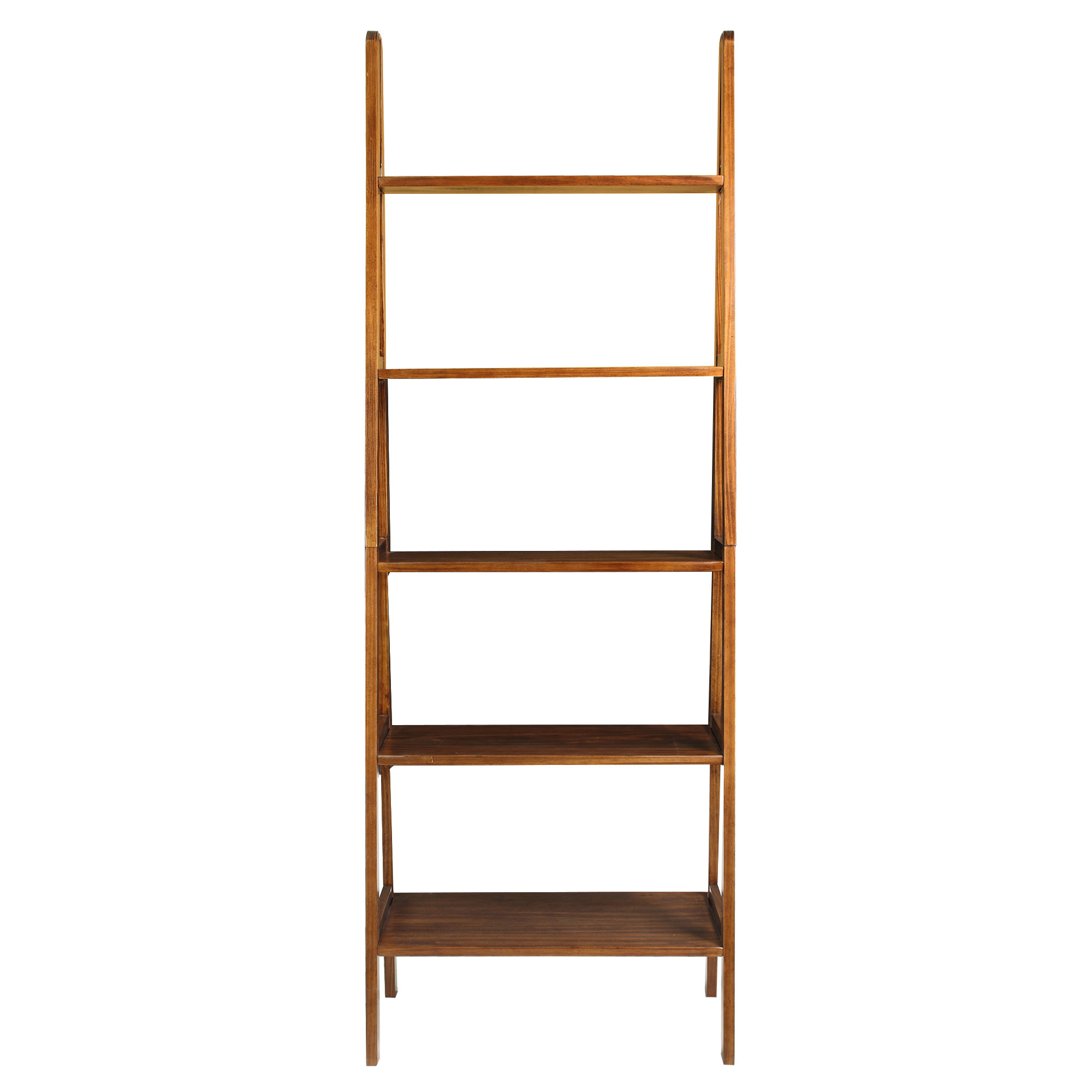 Ranie Ladder Bookcase Intended For Latest Dunhill Ladder Bookcases (View 17 of 20)
