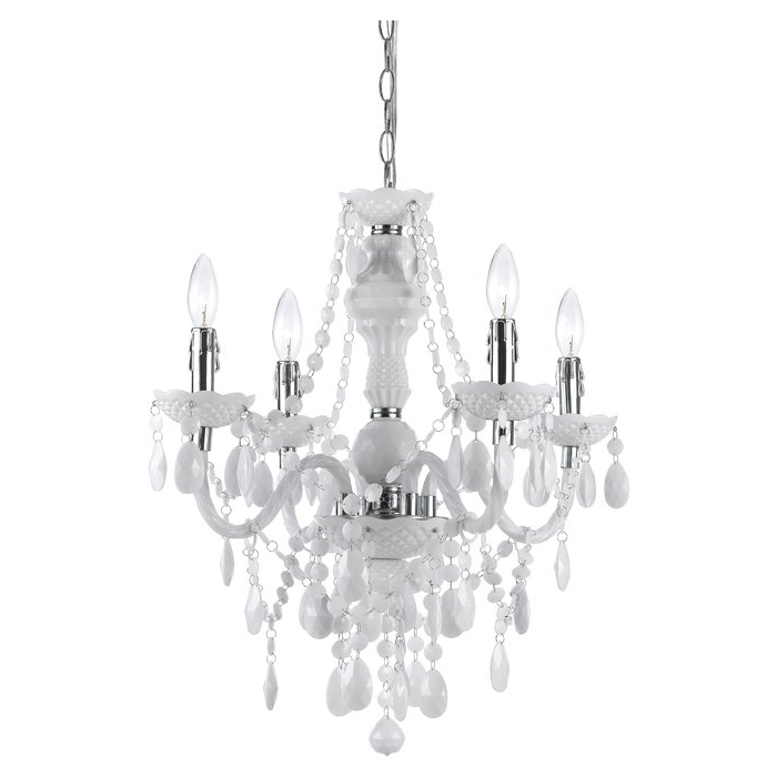 Recent Aldora 4 Light Candle Style Chandeliers With Regard To Geoffroy 4 Light Candle Style Chandelier (View 12 of 25)
