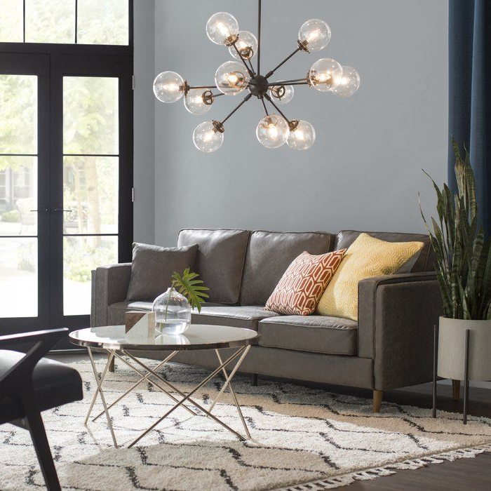 Recent Asher 12 Light Sputnik Chandeliers Intended For Asher 12 Light Sputnik Chandelier In  (View 17 of 25)