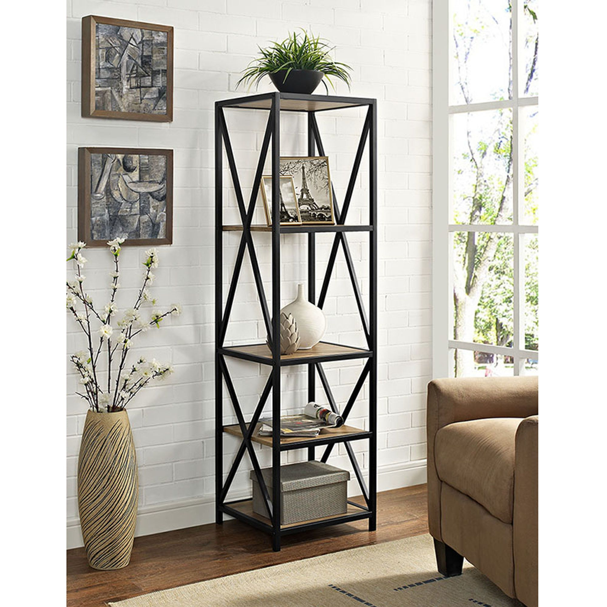 Recent Augustus Etagere Bookcase (View 14 of 20)