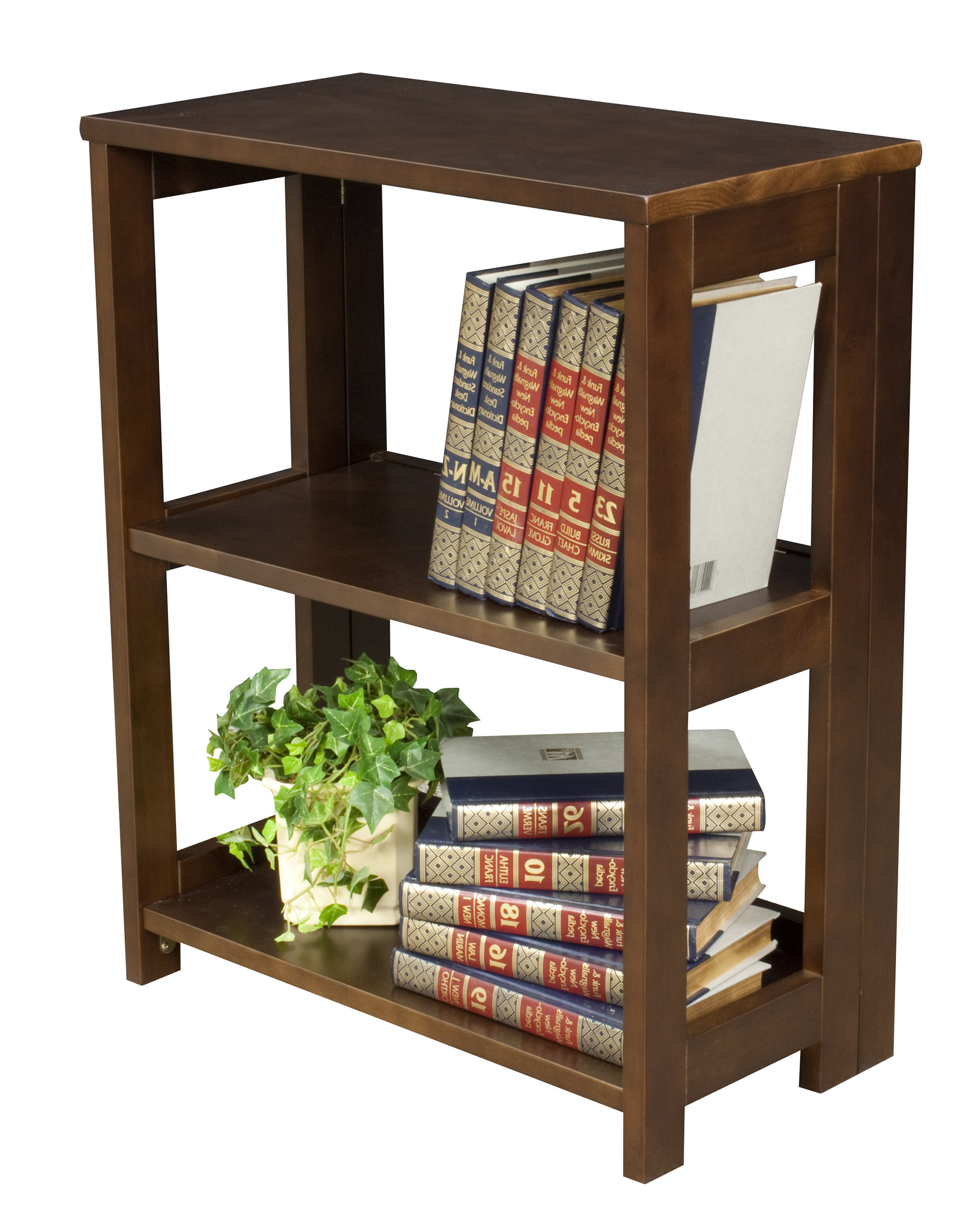 """Recent Belue Standard Bookcases Within Belue 28"""" High Folding Standard Bookcase (View 16 of 20)"""
