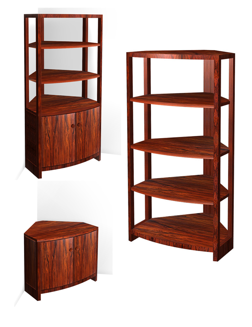 Recent Bright Ideas Corner Furniture Pieces Of Small For – Safari Throughout Fuhrmann Corner Bookcases (View 17 of 20)