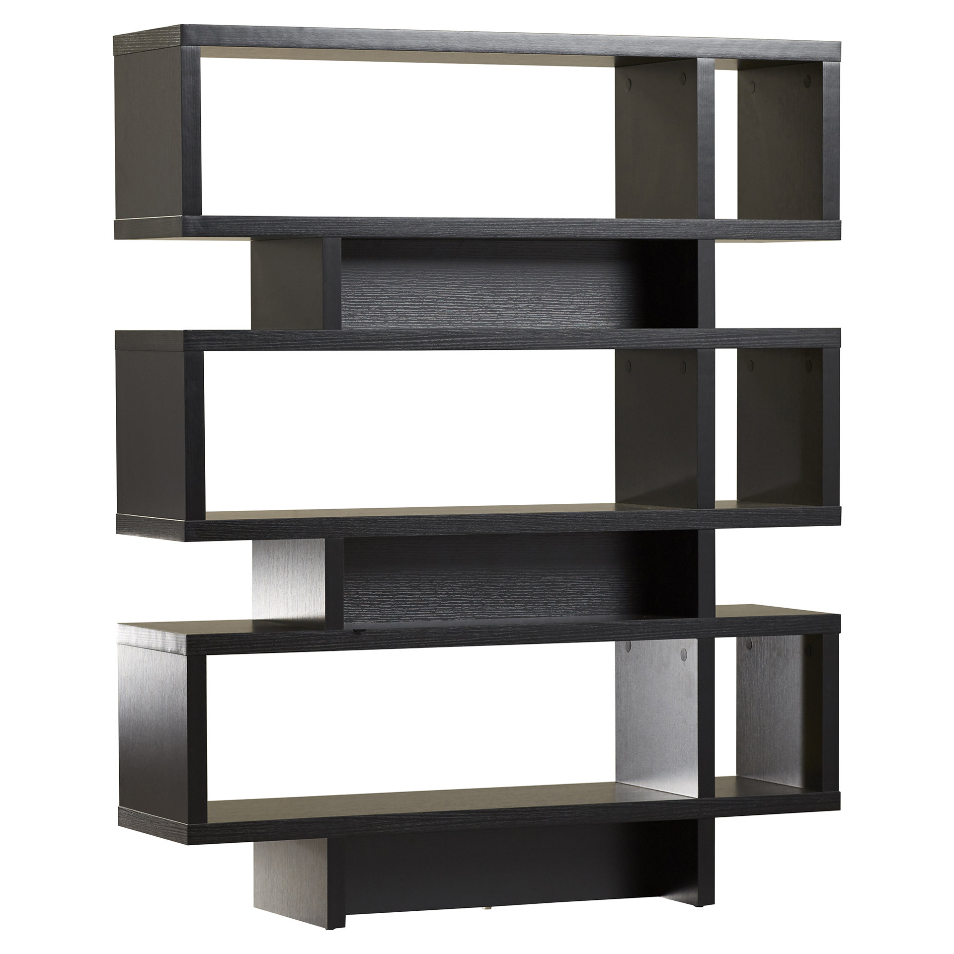 Recent Carnageeragh Geometric Bookcase Pertaining To Swarey Geometric Bookcases (View 10 of 20)