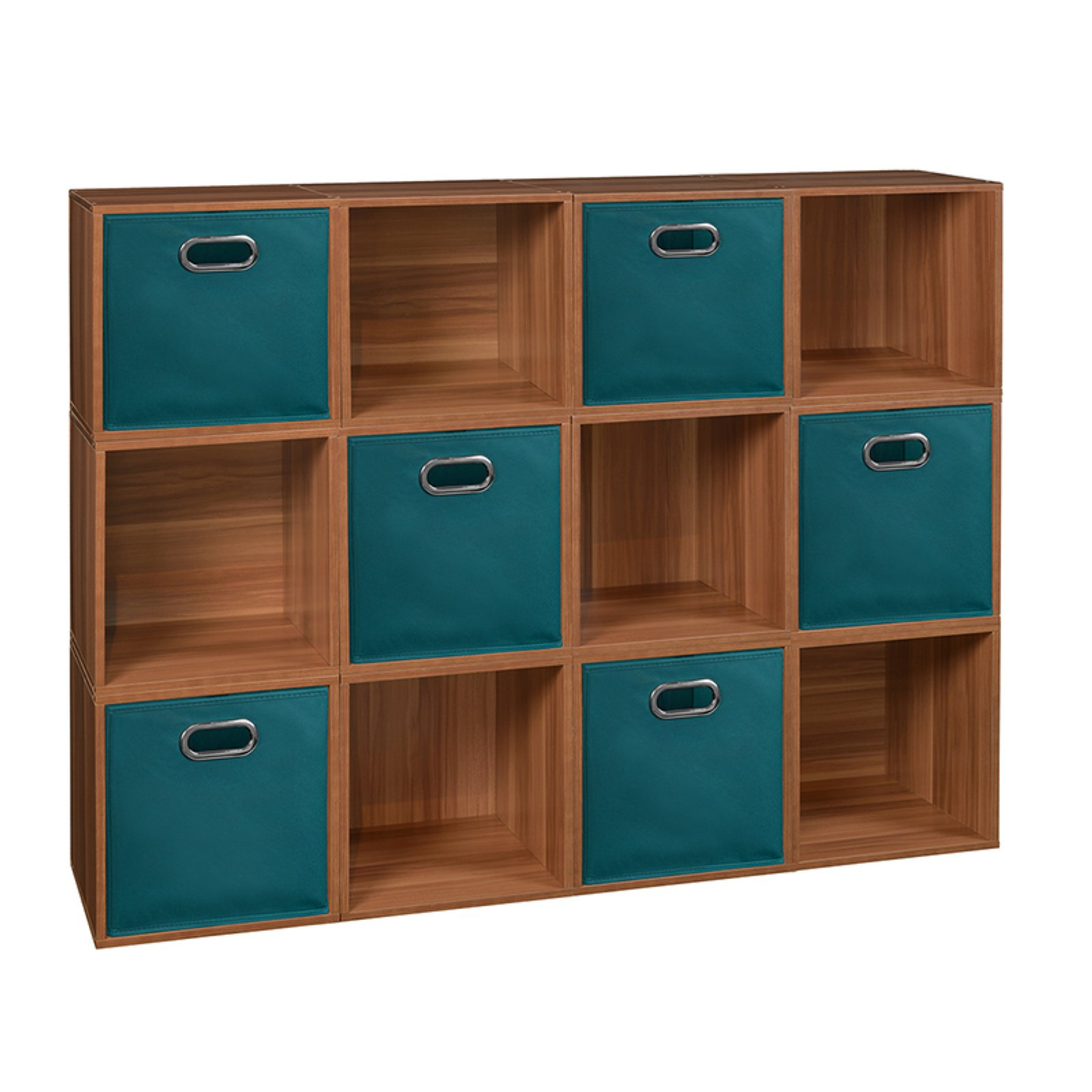 Recent Chastain Storage Cube Unit Bookcases Within Regency Niche Cubo Twelve Cube Storage Unit With Six (View 7 of 20)
