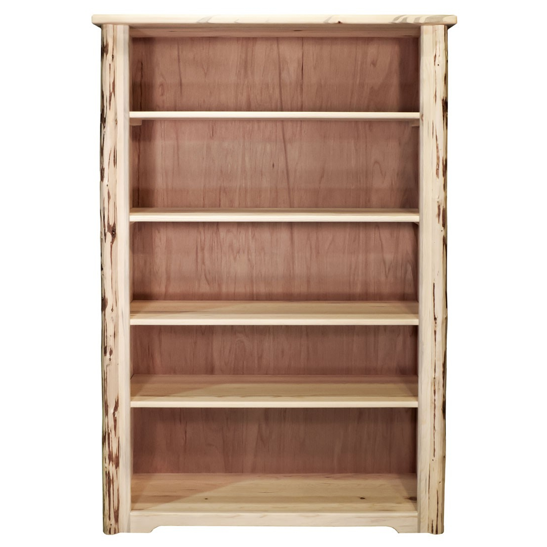 Recent Montana Skip Peel Standard Bookshelf W/adjustable Shelves Within Standard Bookcases (View 8 of 20)