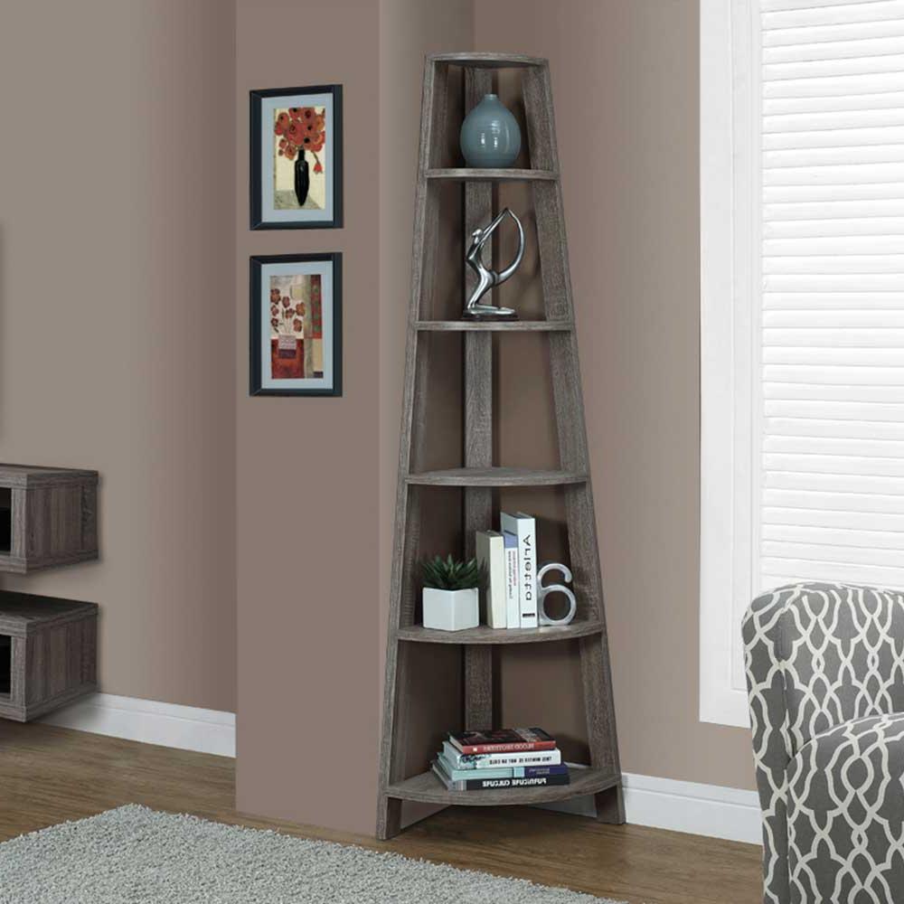 Recent Reclaimed Look Corner Display Unit (View 18 of 20)