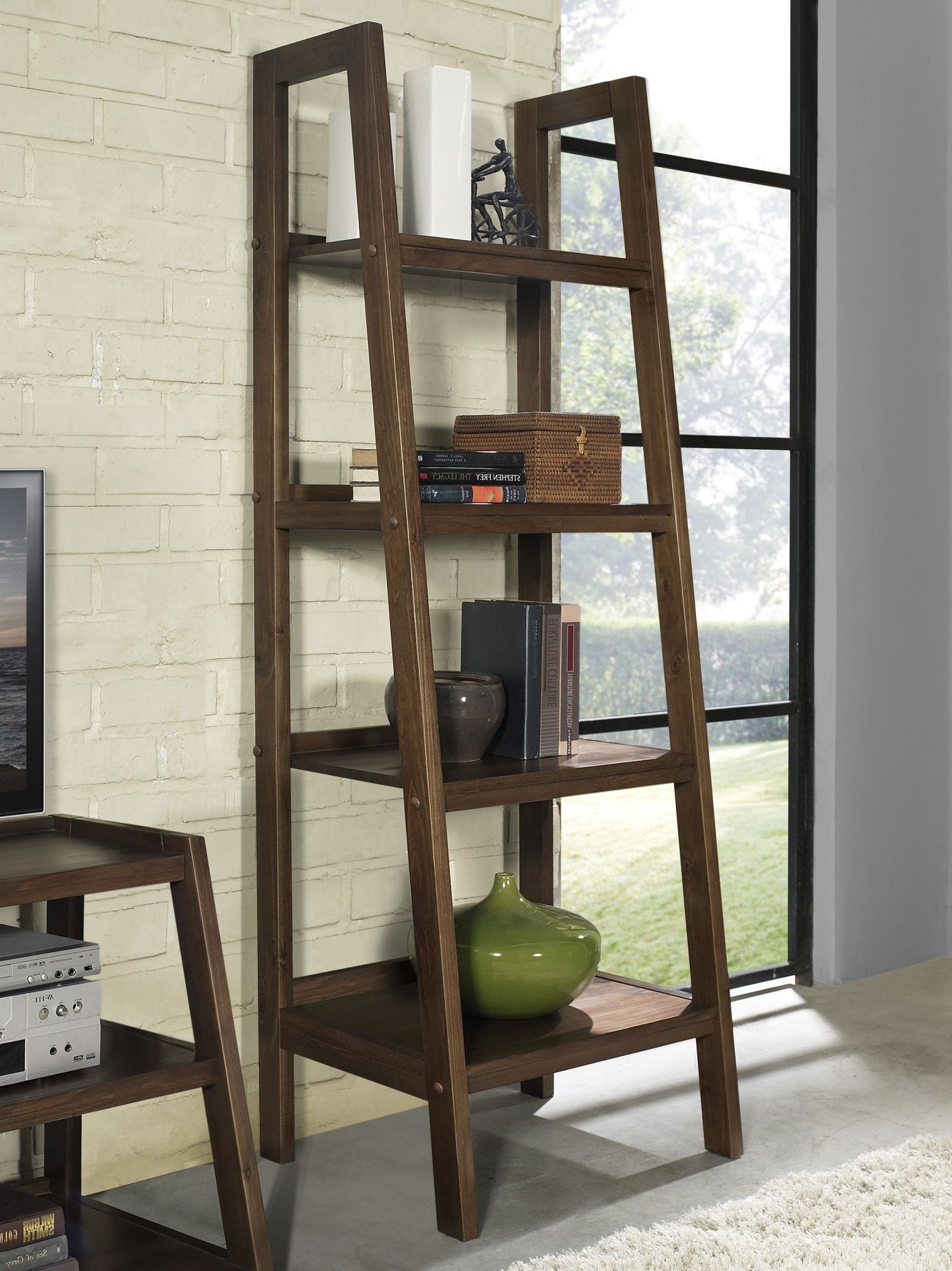 Recent Ricardo Ladder Bookcases In Ine Ladder Bookcase (View 8 of 20)