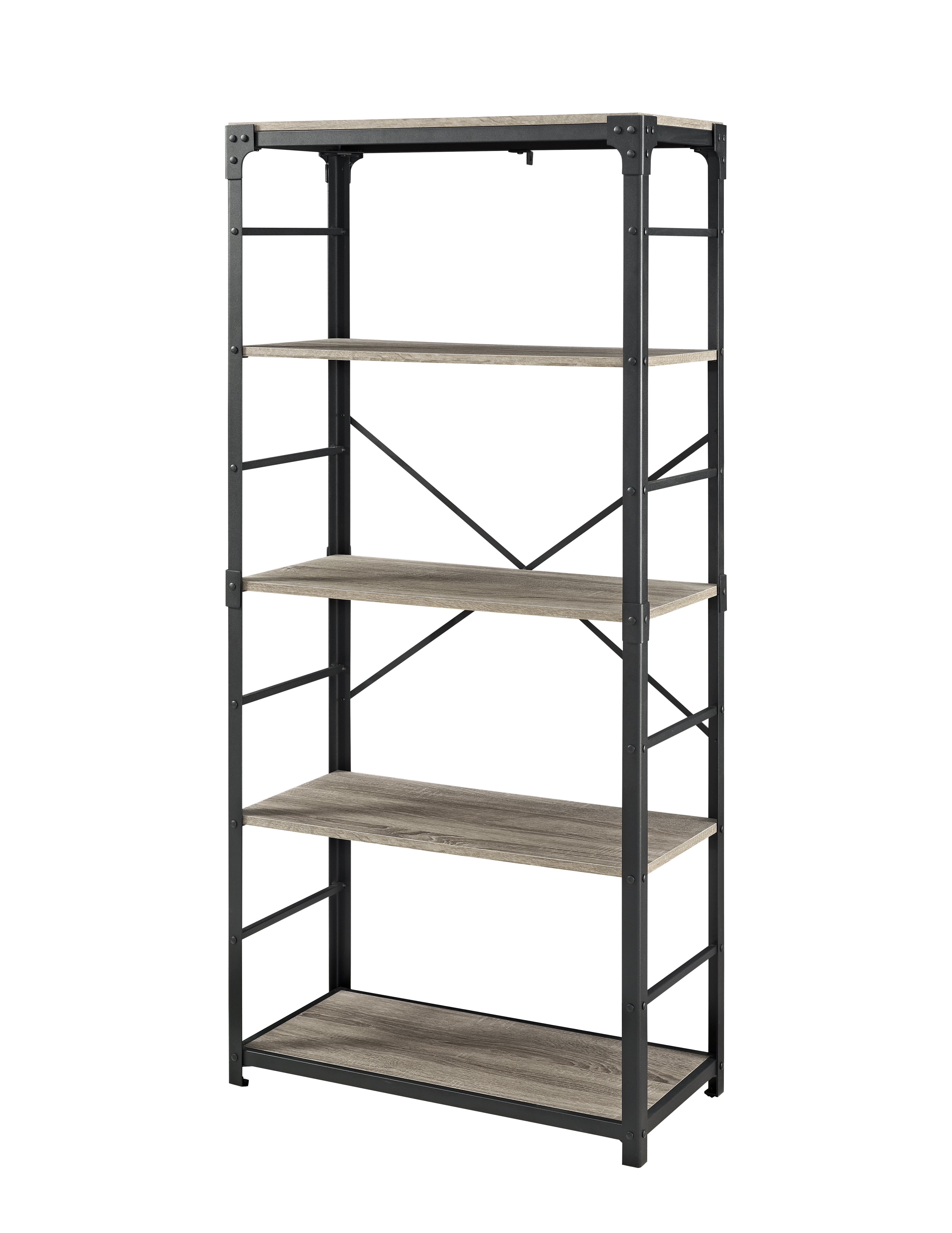 Recent Rocklin Etagere Bookcases Pertaining To Cecelia Etagere Bookcase (View 12 of 20)