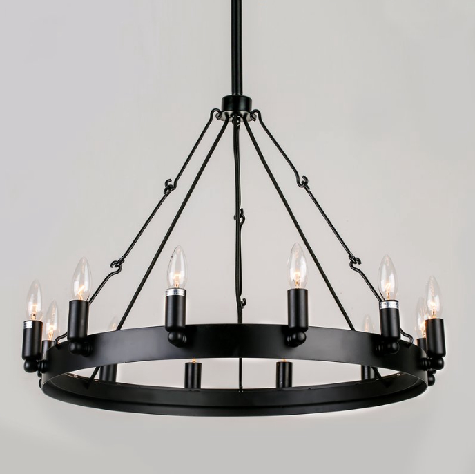 Restoration Hardware Chandelier Look Alikes For Less Intended For Most Up To Date Varnum 4 Light Lantern Pendants (View 15 of 25)