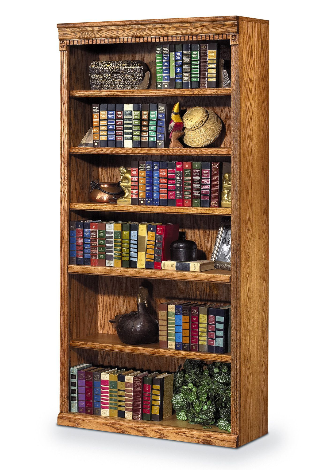 """Reynoldsville Standard Bookcases In Widely Used Huntington Oxford 72"""" Standard Bookcase (View 8 of 20)"""