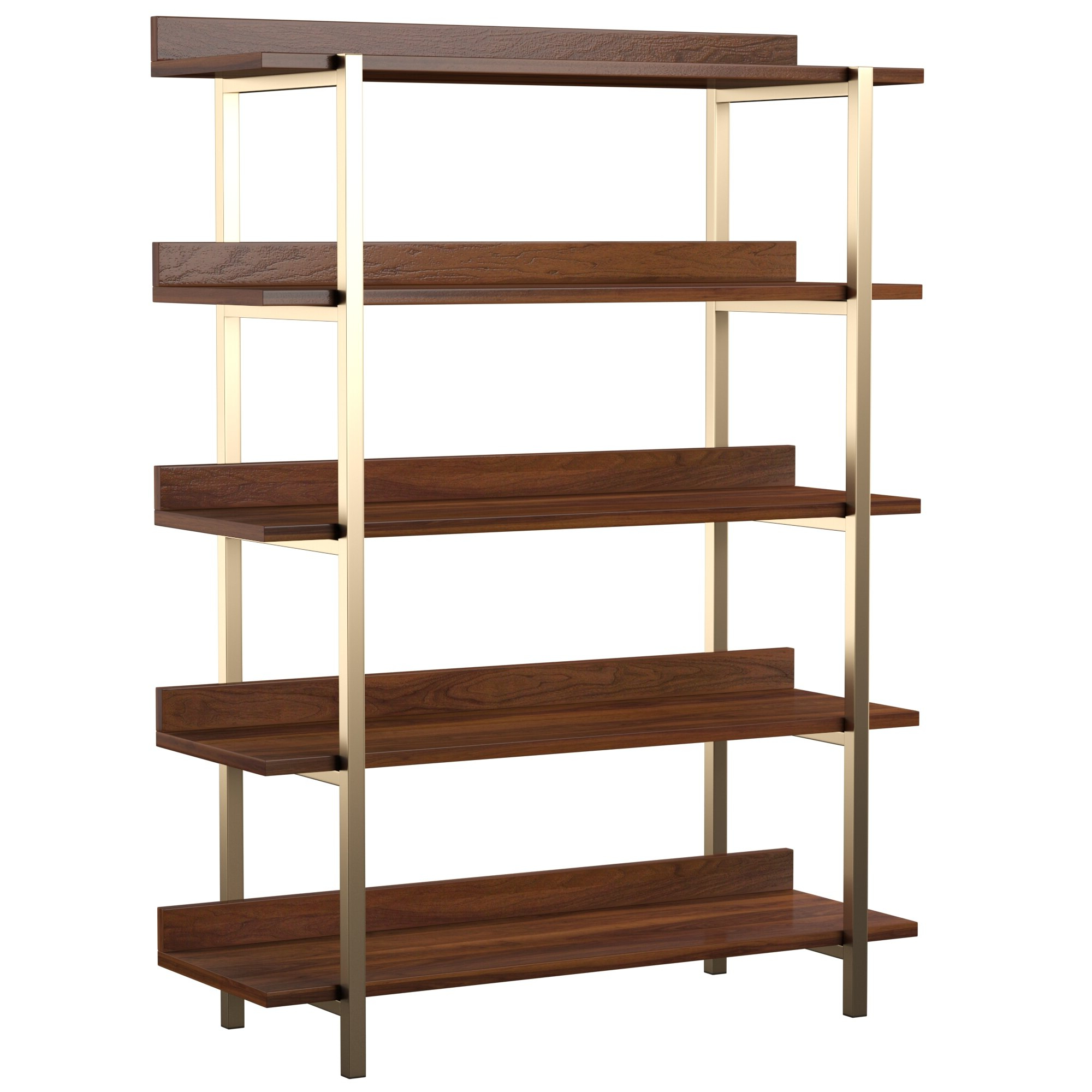 Rhoads Etagere Bookcase Pertaining To Well Known Crowley Standard Bookcases (View 19 of 20)