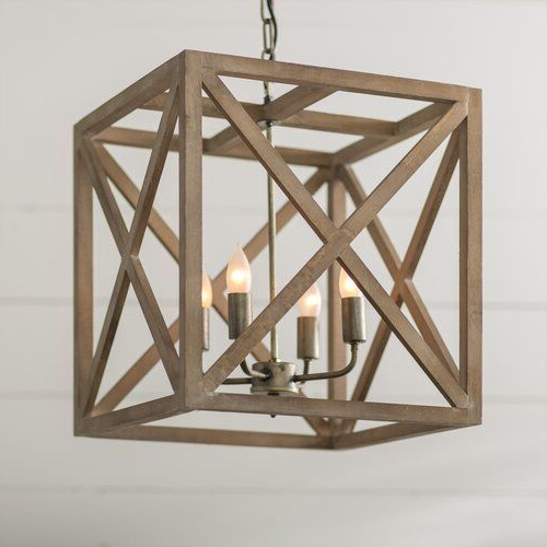 Rossler Pertaining To 4 Light Lantern Square / Rectangle Pendants (View 24 of 25)
