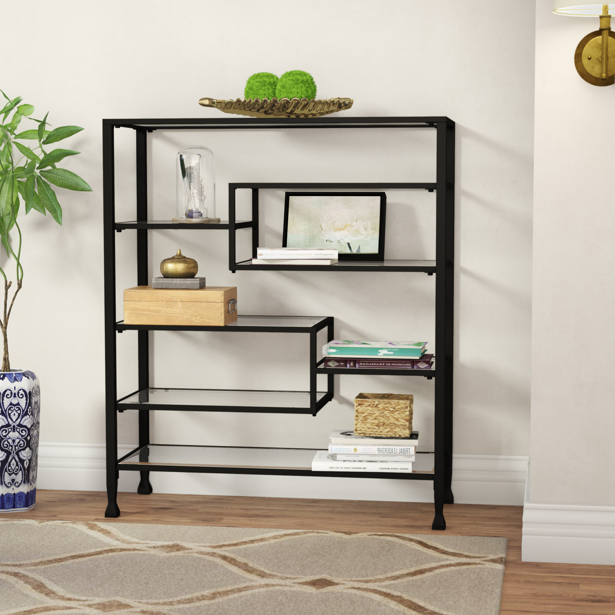 Rossman Etagere Bookcases Throughout Trendy Kenya Etagere Bookcase (View 18 of 20)