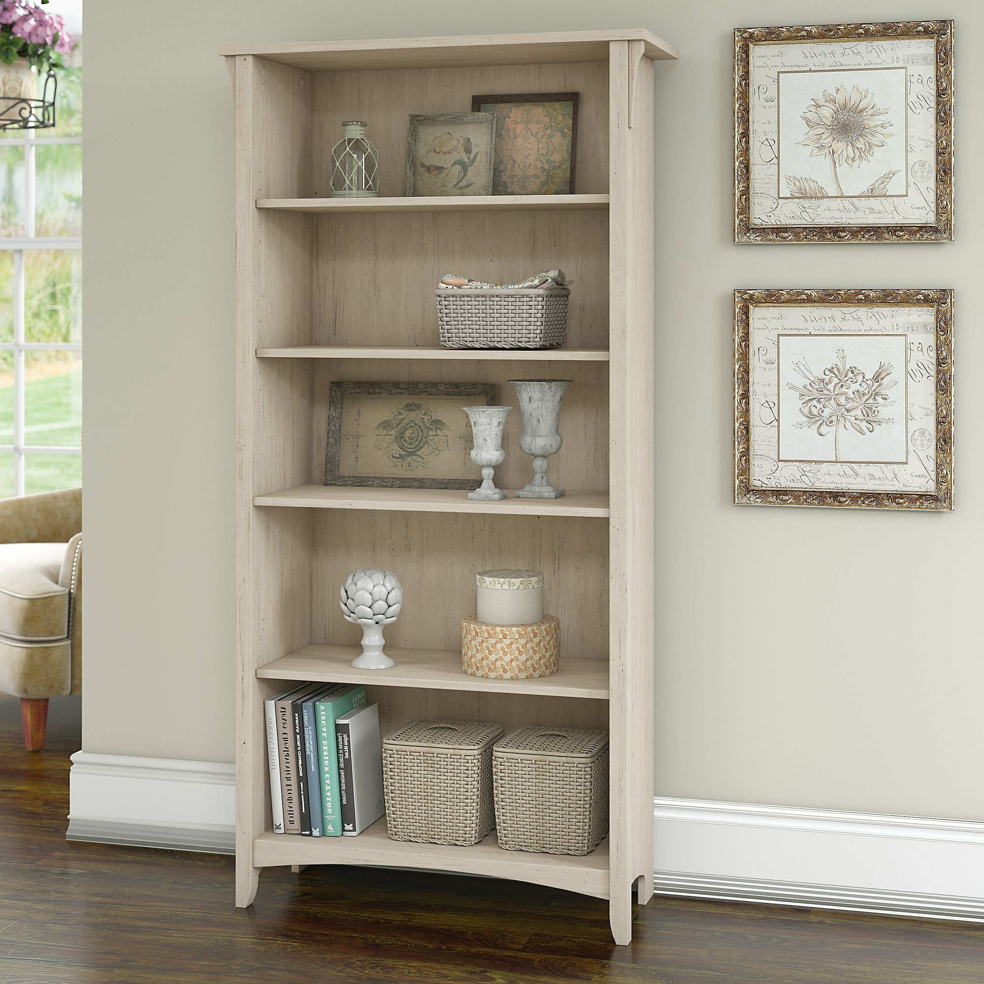 Salina Standard Bookcase In 2019 Standard Bookcases (View 9 of 20)
