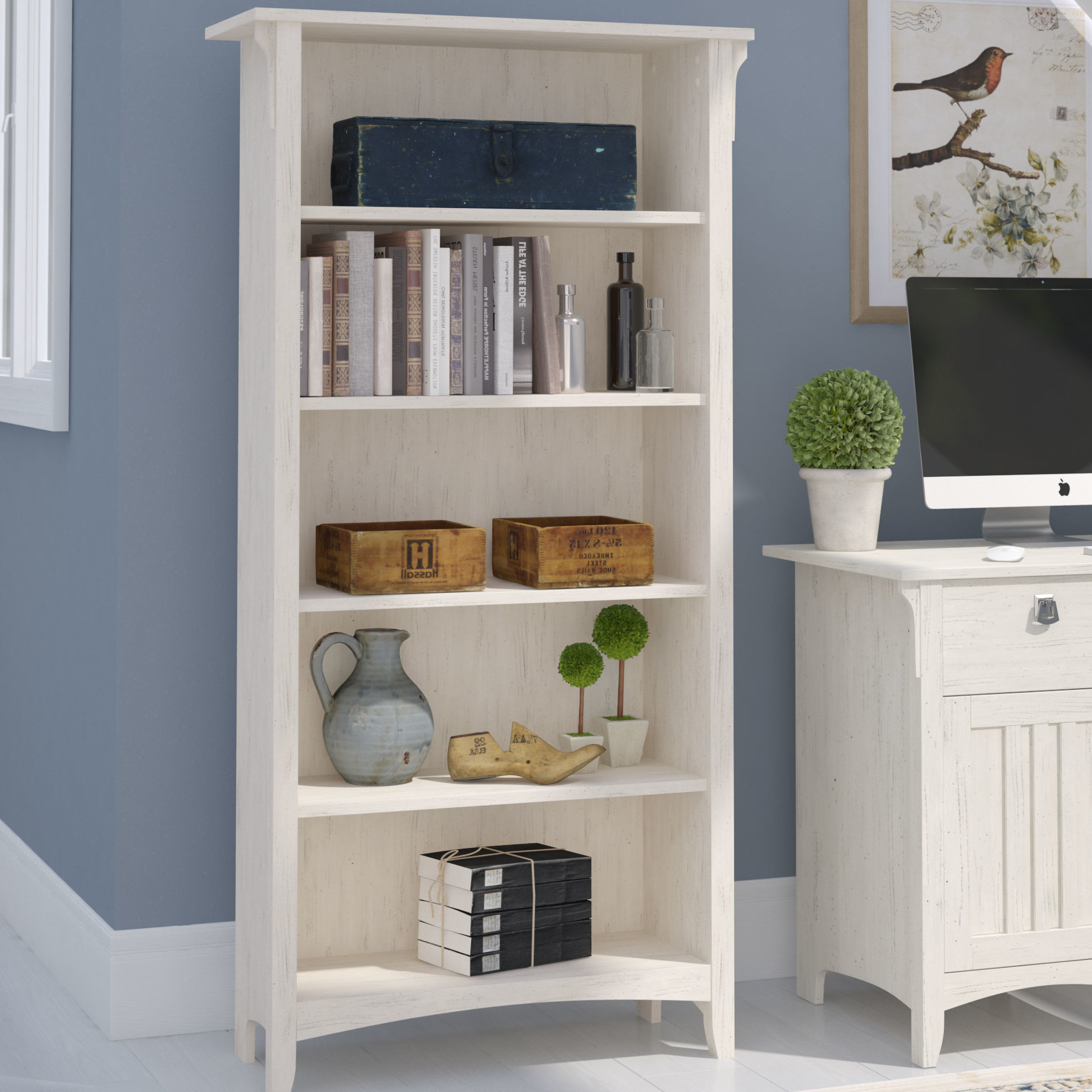Salina Standard Bookcases With Well Known Salina Standard Bookcase (Gallery 2 of 20)