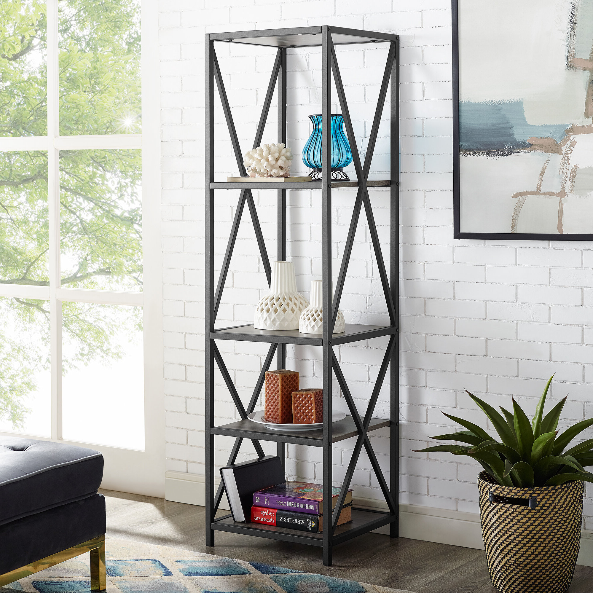 Saskia Etagere Bookcases For Most Recently Released Trent Austin Design Augustus Etagere Bookcase (View 20 of 20)