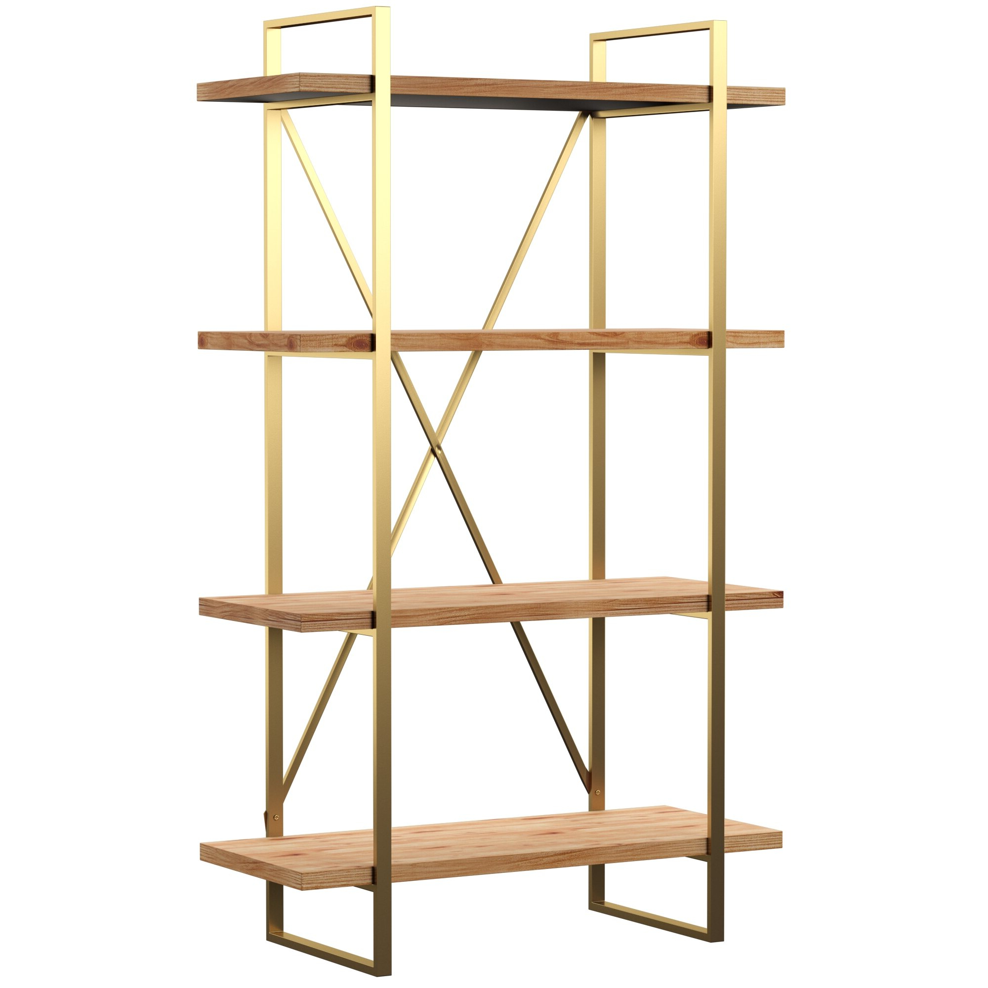 Saskia Etagere Bookcases Intended For Most Recently Released Cristobal Etagere Bookcase (View 15 of 20)