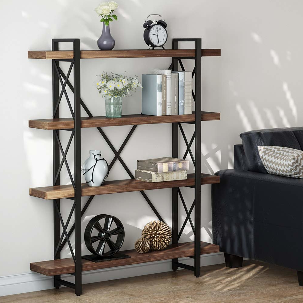 Schleicher Etagere Bookcase Within Well Liked Babbitt Etagere Bookcases (View 18 of 20)