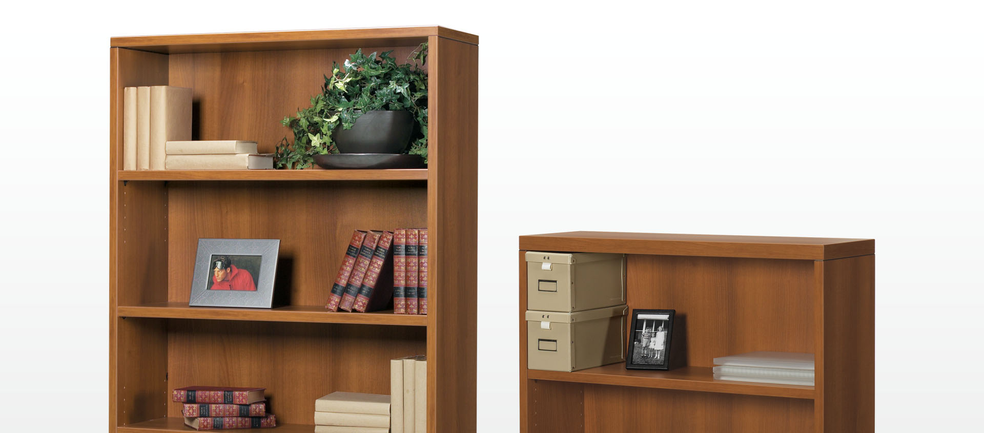 Series C Standard Bookcases With Regard To Most Recently Released Laminate Bookcases (Gallery 20 of 20)