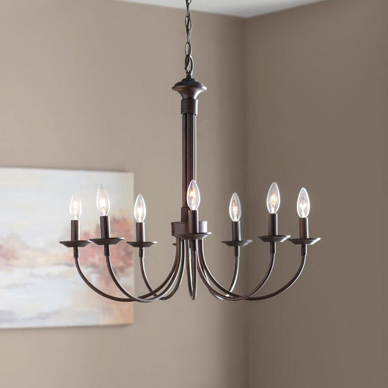 Shaylee 5 Light Candle Style Chandeliers Pertaining To Popular Shaylee 8 Light Candle Style Chandelier (View 18 of 25)