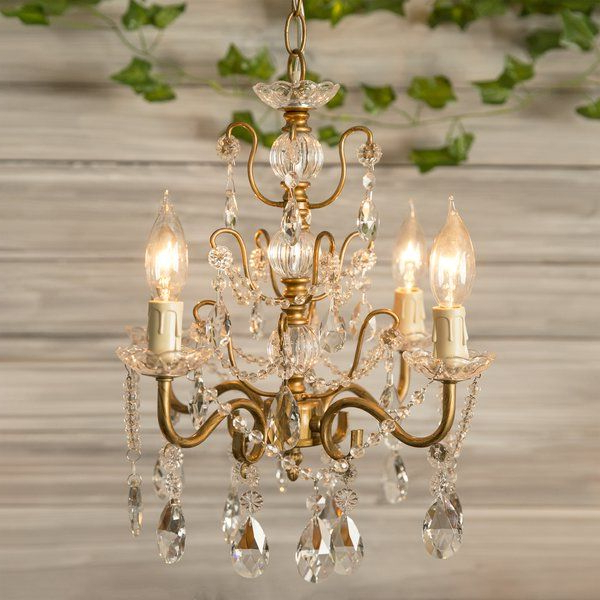 Sherwood 4 Light Candle Style Chandelier (Gallery 4 of 25)