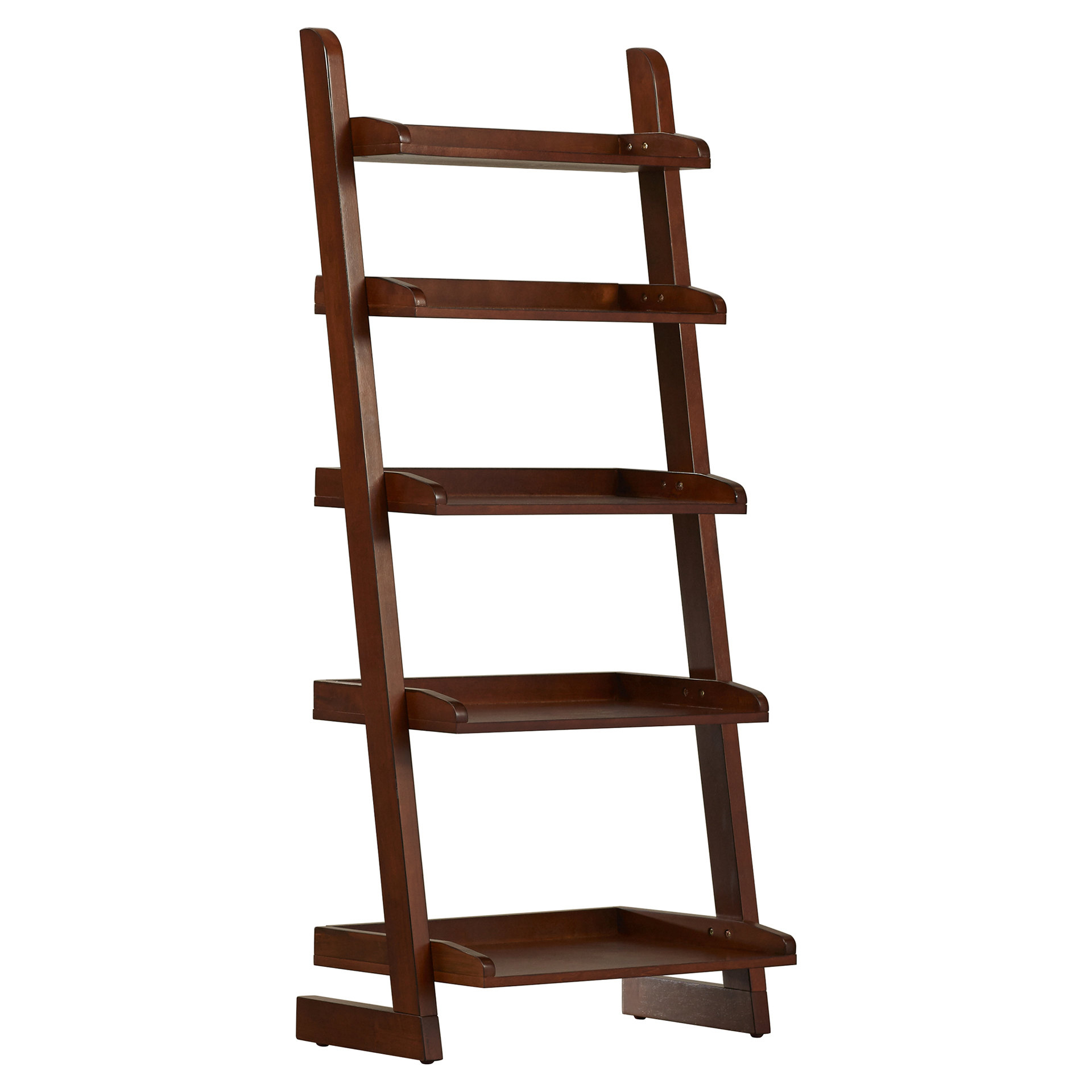 Silvestri Ladder Bookcase Intended For Most Recently Released Gilliard Ladder Bookcases (View 5 of 20)