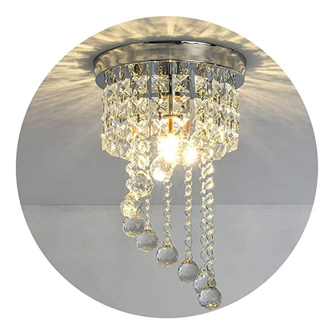 Sinead 4 Light Chandeliers Inside Trendy Modern Led Bulb Ceiling Light Pendant Fixture Lighting Crystal Chandelier (View 20 of 25)