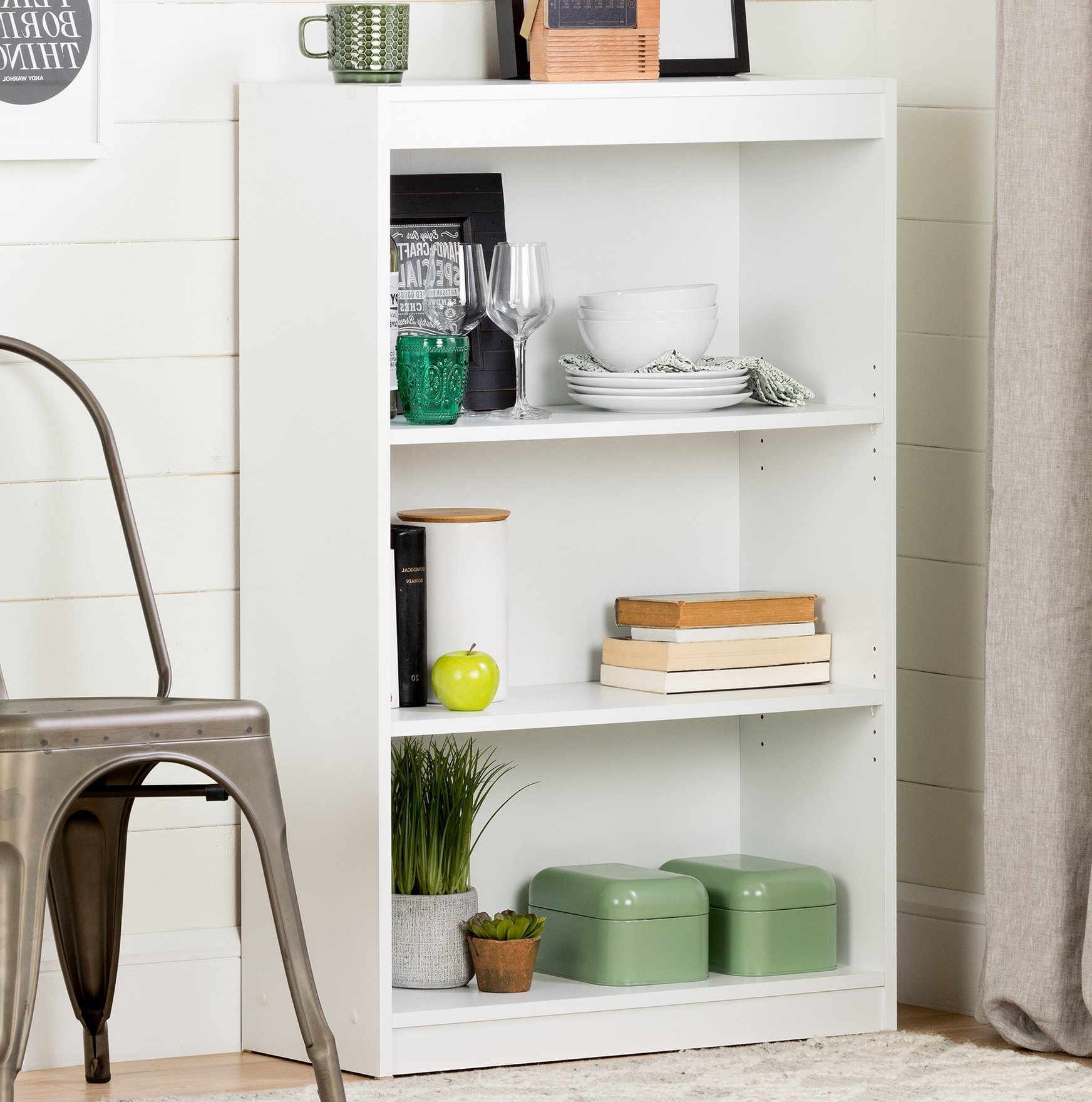 South Shore Axess Standard Bookcase & Reviews (View 17 of 20)