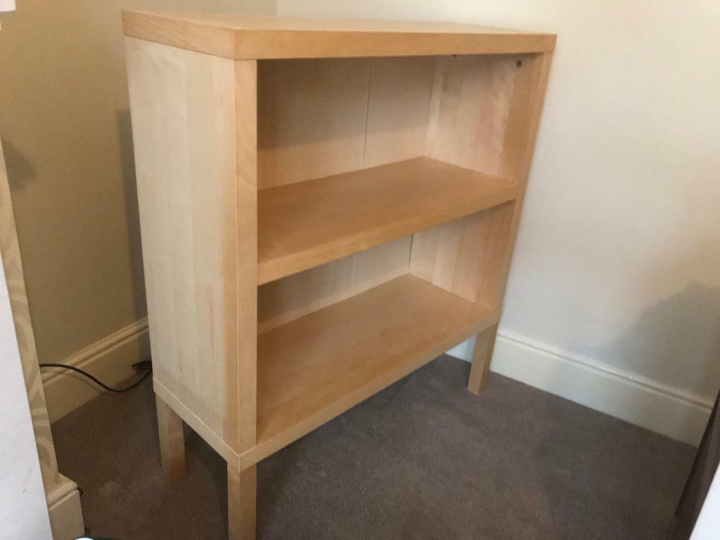 Staple Hill Bookcases With Regard To Most Recent Wood Effect Shelving Unit (ikea) (View 12 of 20)