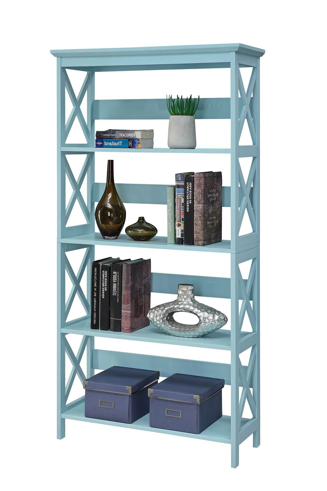 Stoneford Etagere Bookcase For Recent Parker Modern Etagere Bookcases (View 16 of 20)