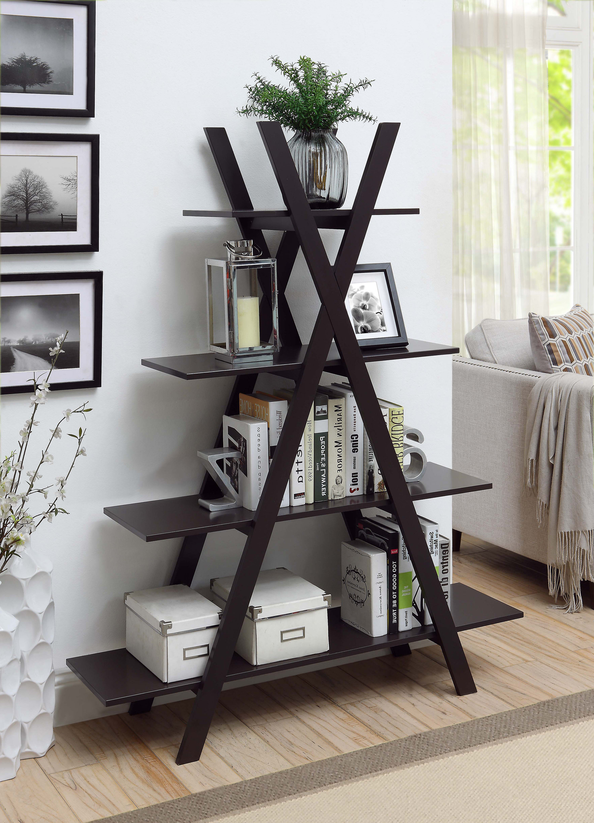 Stoneford Etagere Bookcase Regarding Newest Stoneford Etagere Bookcases (Gallery 9 of 20)