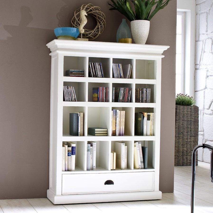 """Strauss Cube Unit Bookcases Regarding Latest Amityville 51"""" Cube Unit Bookcase (View 15 of 20)"""