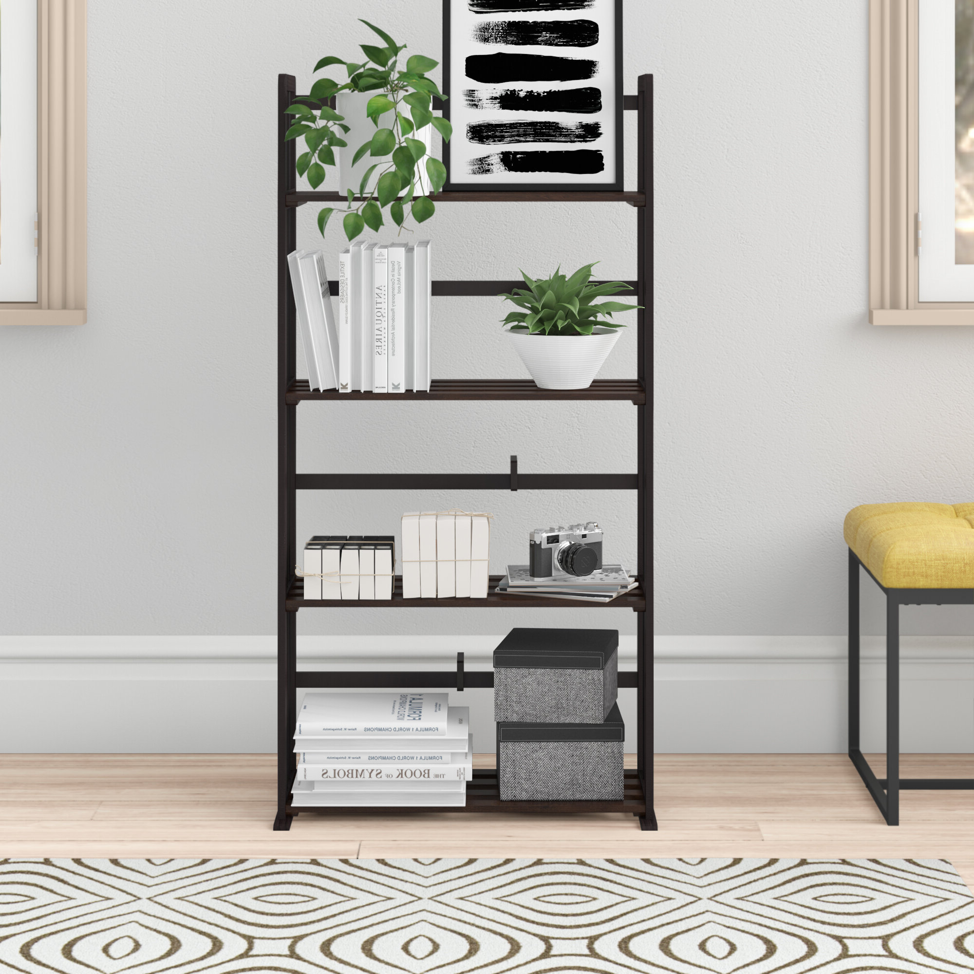 Sutton Etagere Bookcase With Regard To 2019 Kettner Etagere Bookcases (View 17 of 20)