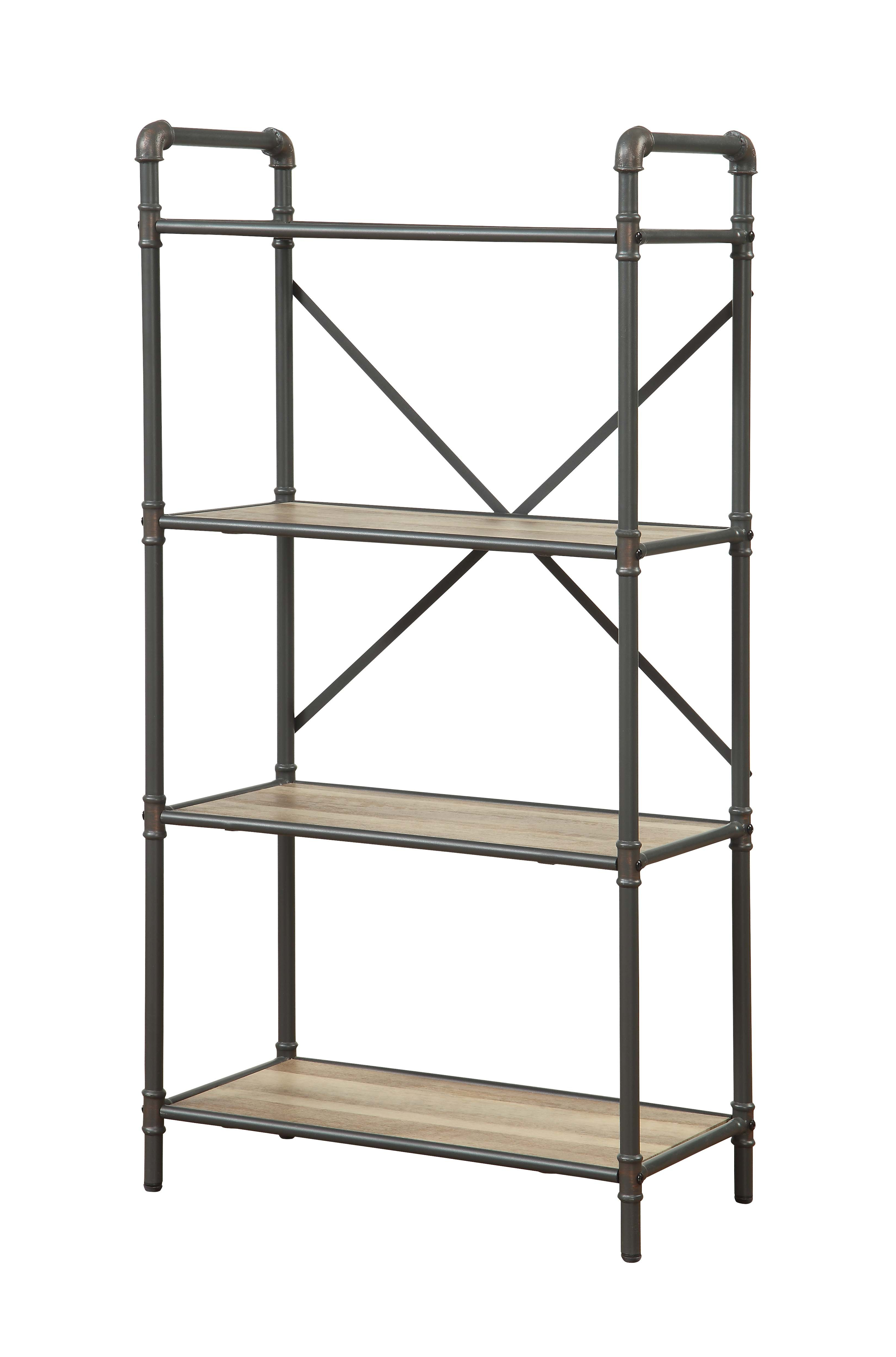 Swindell Etagere Bookcases For 2019 Christofor Industrial Etagere Bookcase (View 7 of 20)