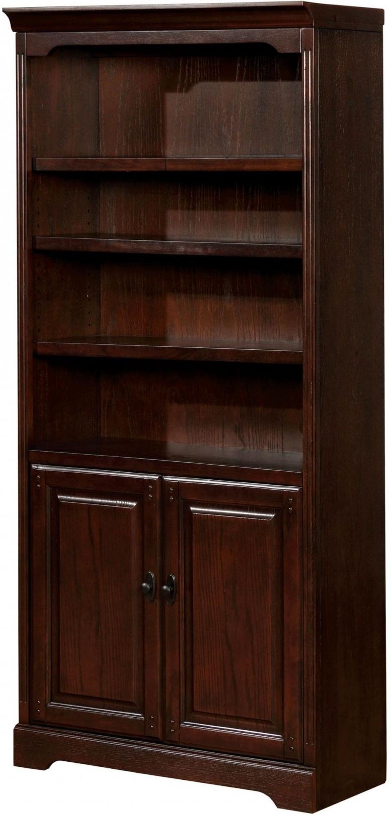 Tami Standard Bookcases Regarding Well Liked Tami Dark Walnut Book Shelf (View 4 of 20)