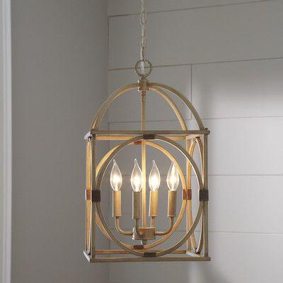 Taya 4 Light Lantern Pendant (View 5 of 25)