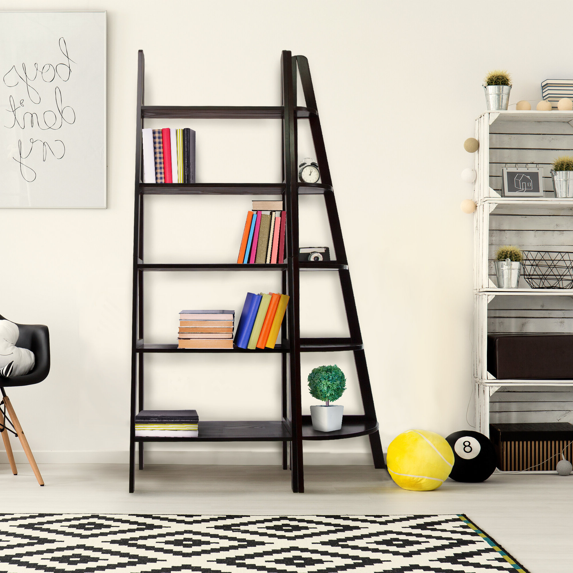 Taylorville Corner Bookcase For Fashionable Taylorville Corner Bookcases (View 4 of 20)