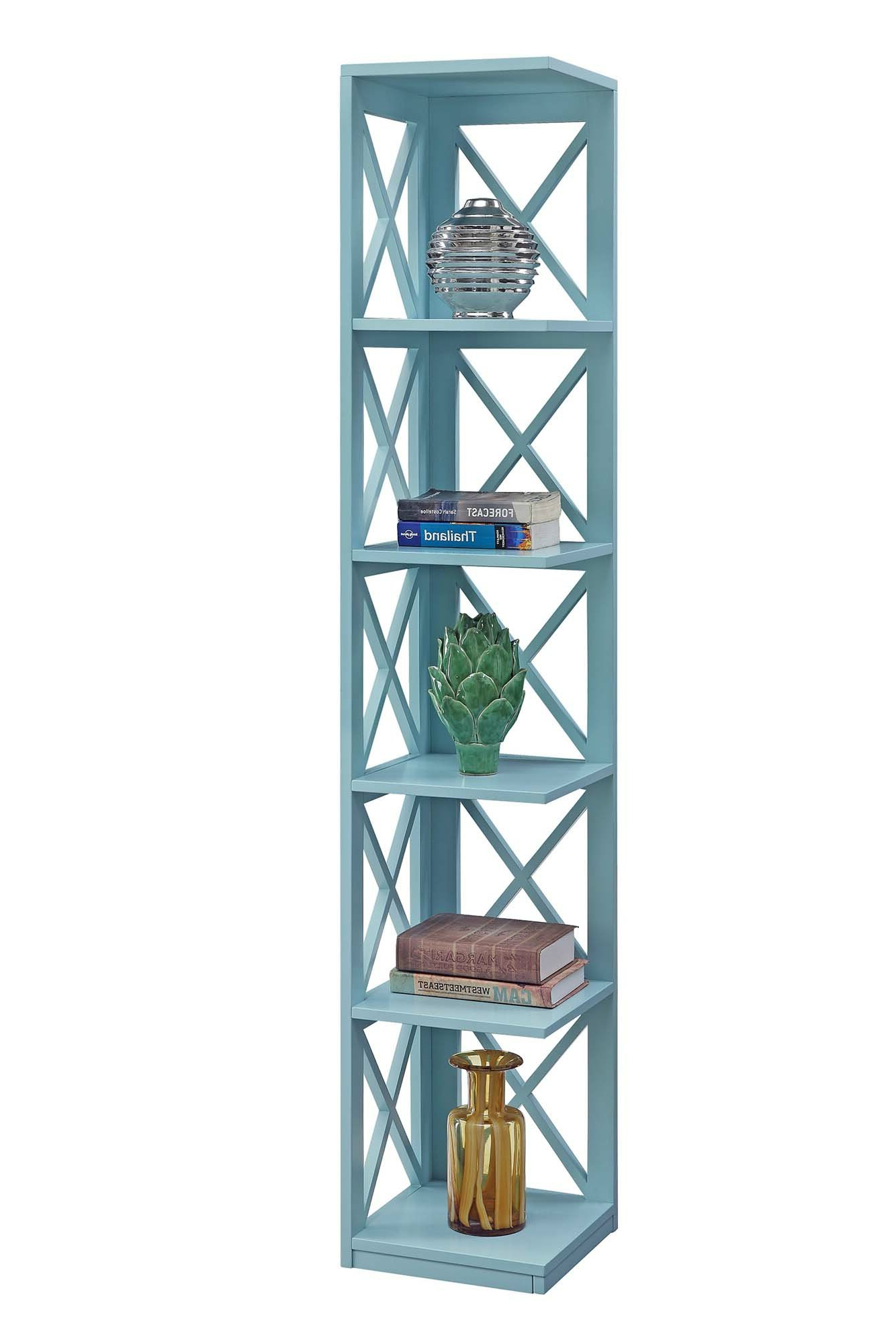 Taylorville Corner Bookcases For Best And Newest Stoneford Corner Bookcase (View 14 of 20)