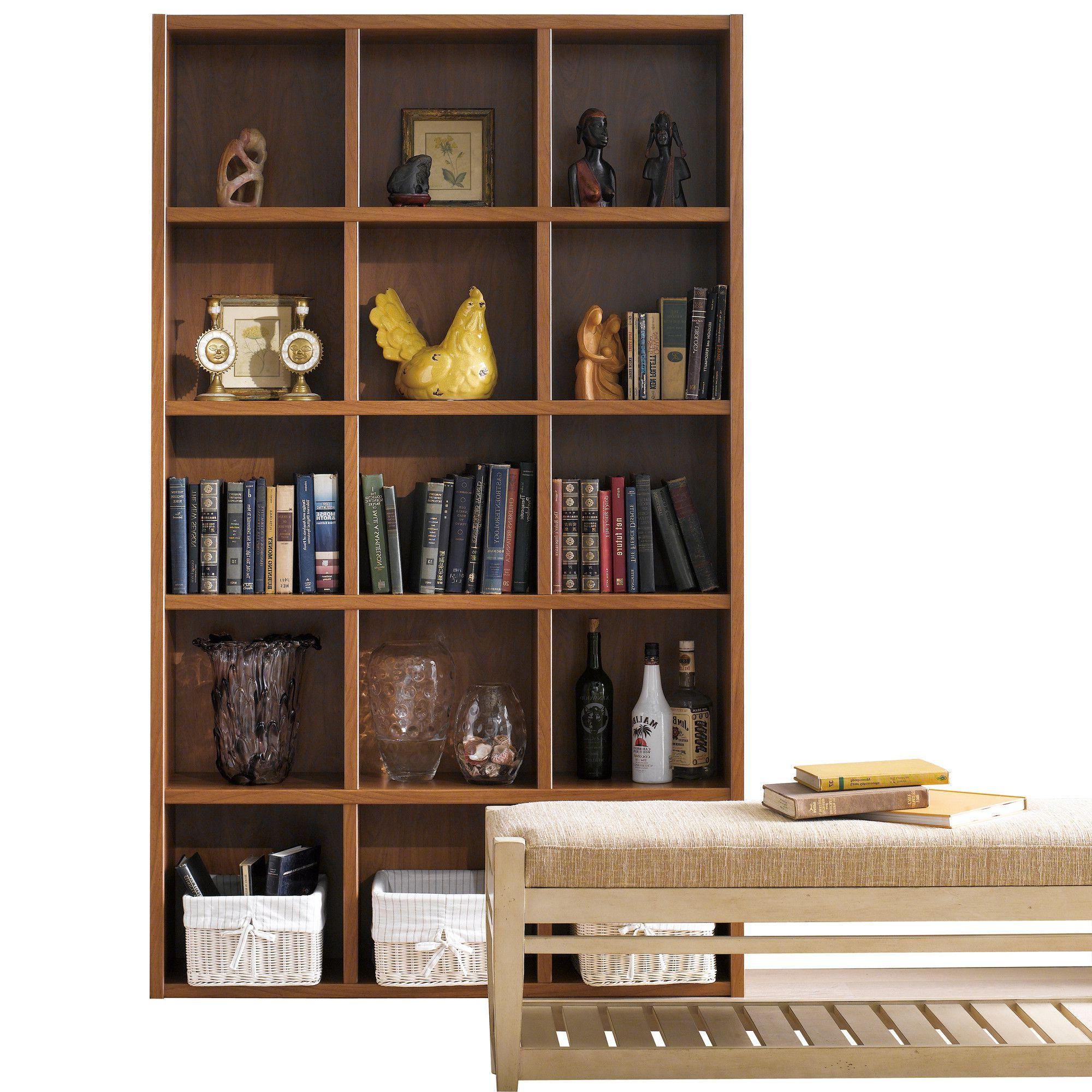 "Techny Kline 78"" Cube Unit Bookcase (View 17 of 20)"