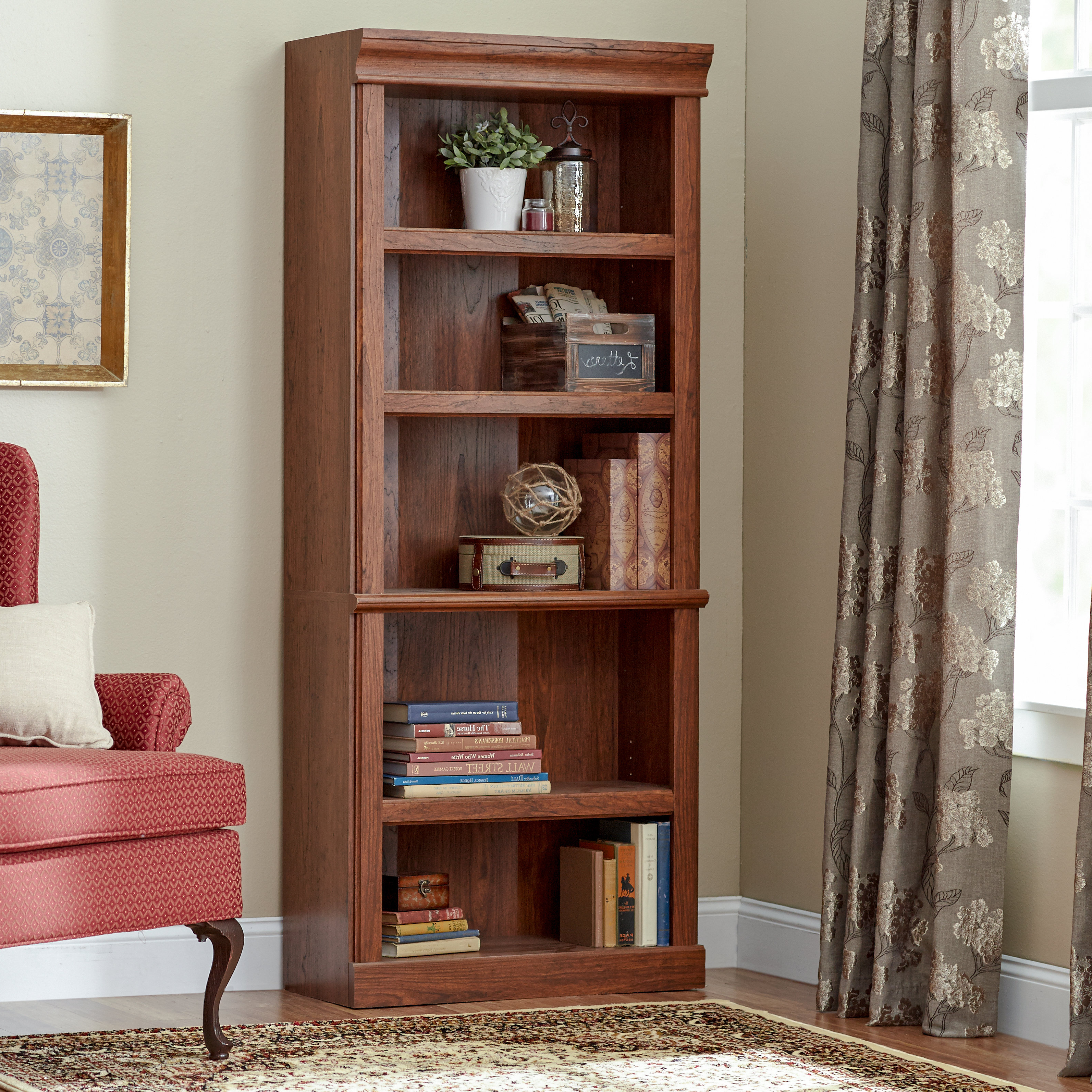 Thaler Standard Bookcase Regarding Well Liked Salina Standard Bookcases (View 12 of 20)