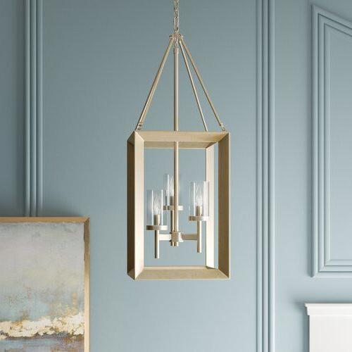 Thorne 3 Light Lantern Square / Rectangle Pendant (Gallery 10 of 25)