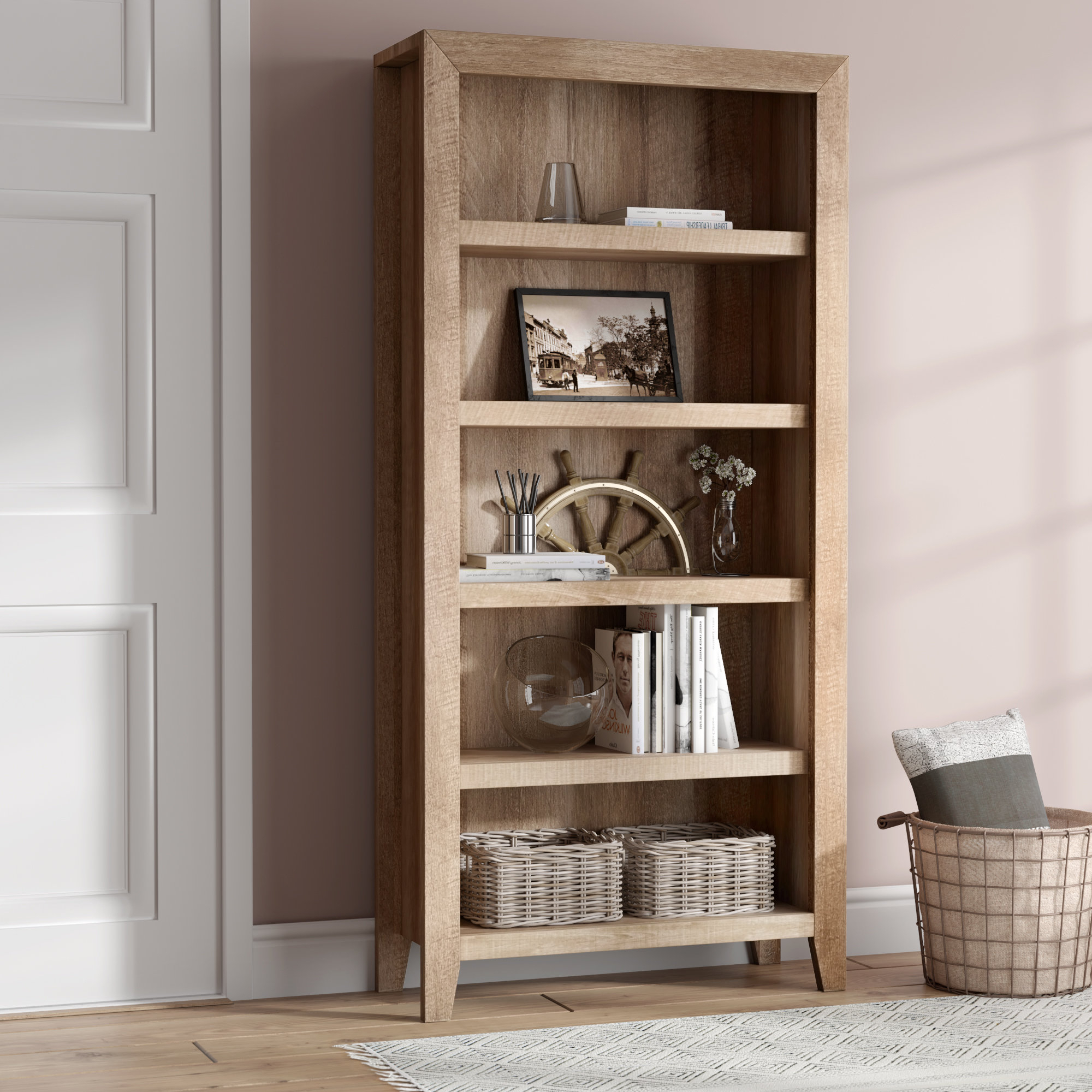 Three Posts Orford Standard Bookcase & Reviews (View 19 of 20)